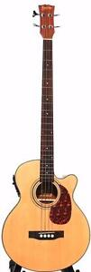 Acoustic Bass Guitar installed EQ iBass241 brand new 49 inch iMusicGuitar