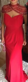 Red formal dress size 10/12