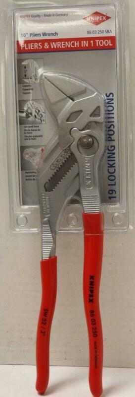 "NEW - Knipex 86 03 250 10"" Multi Purpose Pliers"