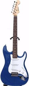 Electric Guitar for beginners with Tremolo Blue iMEG270 Free 5 picks