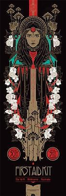 FIRST AID KIT CONCERT POSTER LIMITED EDITION SCREEN PRINT BY KEN TAYLOR