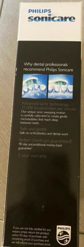 hx6817 31 plaque control rechargeable toothbrush white