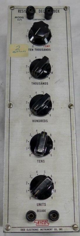 Eico Model 1171 Resistance Decade Box