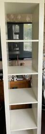 5 cube hole IKEA unit old expedit cupboard 44cm W 185 long 39 d collect Ng5