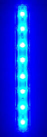 TMC AQUARAY AQUABEAM LED STRIP REEF BLUE 8 LED FISH TANK LIGHT - DELIVERY PAYPAL 07544000786