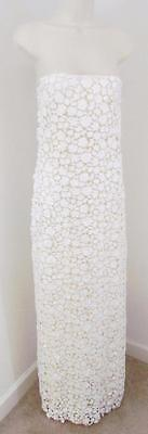 J Crew Simona Lace Wedding Gown Dress ivory size 2 $2500 NEW