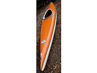 Single Kayak (Amazonas1 by Bavaria Boote)-good condition ~415-cm x 55-cm
