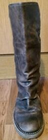 Ladies Fly leather boots size 6