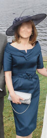 Teresa Ripoll - Mother of the Bride French Navy Dress