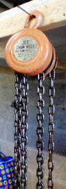 Jet 1/2 ton chain hoist