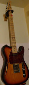 G&L Tribute Thinline Telecaster Tele Electric Guitar 2005 - Made in Korea - bluesboy
