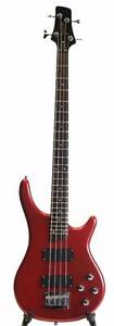 Electric Bass Guitar Brand New Red iMEB263 Full size iMusicGuitar