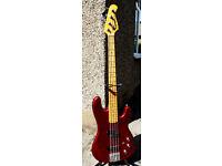 Kramer Striker 700st Bass Guitar late 1980s
