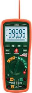 NEW Extech EX570 Cat IV Industrial MultiMeter Plus IR Thermometer