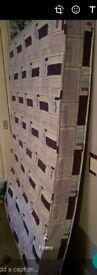 Double bed matress, used once since we go an orthopaedic mattress, great