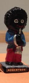 Golly trumpet player - 1960's Robertsons pottery figure