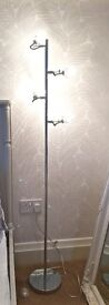 Polished Chrome 4 spotlight Floor Lamp