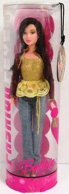 Barbie Fashion Fever Lea Doll J1381 Gold and Denim Ensemble (NEW)