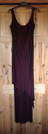 Bernshaw dress in burgundy. Size 8