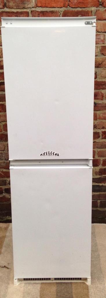 Integrated fridge freezer free delivery