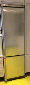 FRIDGE FREEZER Almost New Stainless Steel AEG Santo 4085-8KG coolmatic indicator
