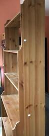 Tall solid wooden cabinet