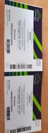 Weezer standing tickets x 2, in hand, Wembley 28/10/17, collect from Holborn today £50 for the pair