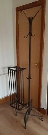 Ikea matching PORTIS coat stand and shoe rack