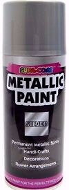 210ml Can of Supa Coat Silver Metallic Spray Paint