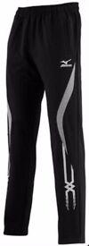 Mizuno Mens Team Training Cotton Sweat Pant 60PF150-09 Black Brand New