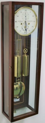 Stunning Sewills Mahogany & Glass Precision Observatory Regulator Wall Clock