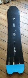 2017 Burton Skeleton Key Ltd 154cm men's snowboard – amazing condition, still under warranty