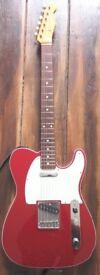 Fender Telecaster 62' reissue, MIJ, 09' Candy Apple Red.