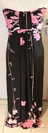 West and Webb strapless maxi dress UK12