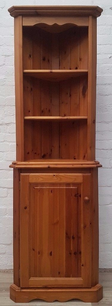 Pine Corner Cabinet (DELIVERY AVAILABLE FOR THIS ITEM OF FURNITURE ...