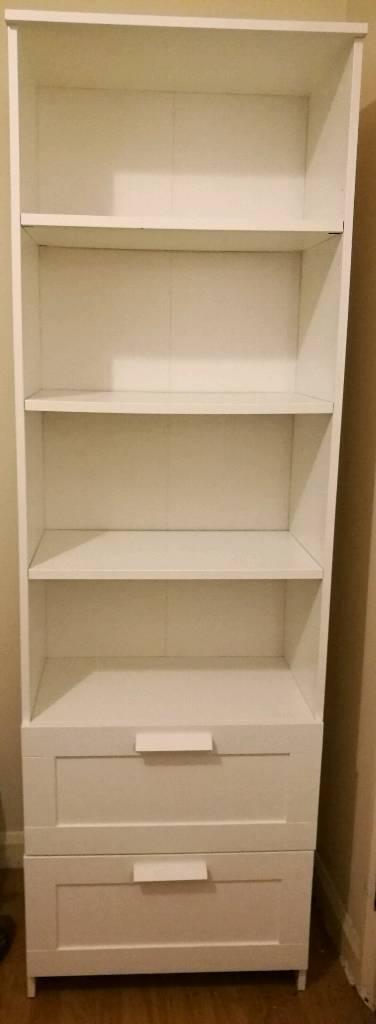 IKEA Brimnes Bookcase in white