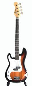 Bass Guitar Left handed 4 String for beginners Sunburst iMEB808LF