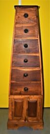Pyramid Chest Cabinet