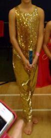 U12/14 Boys intermediate/champ freestyle disco dance costume