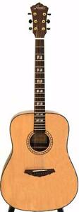 Solid top cedar acoustic guitar iTS9000 41 inch full size brand new Free 5 picks