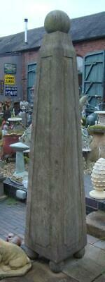 Large Obelisk - Hand Carved from Solid Natural Stone - Height 220cm