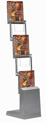 Prospektständer faltbar 5 x DIN A4 inkl. Transporttasche Werbeaufsteller Messe