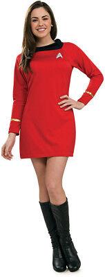 Woman Adult Sexy RED Star Trek Classic Deluxe - Star Trek Uhura Kostüme Deluxe