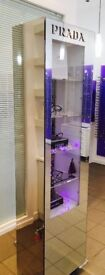display cabinet( prada) lockable