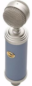Blue Bluebird Condenser microphone! Mint Condition!