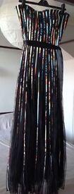 Long dress size 10 by Izabel London