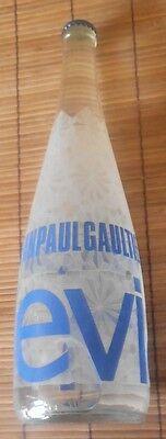 Bottle bouteille Evian par Jean Paul Gaultier pleine neuve