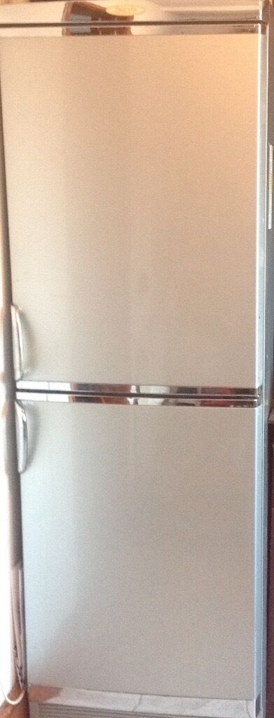 silver fridge frezzers in good conditions work perfectly.