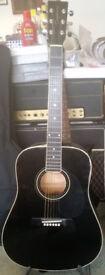 Tanglewood TW28BK Acoustic Guitar
