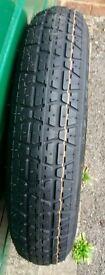 Unused Spare tyre (Toyota Verso).